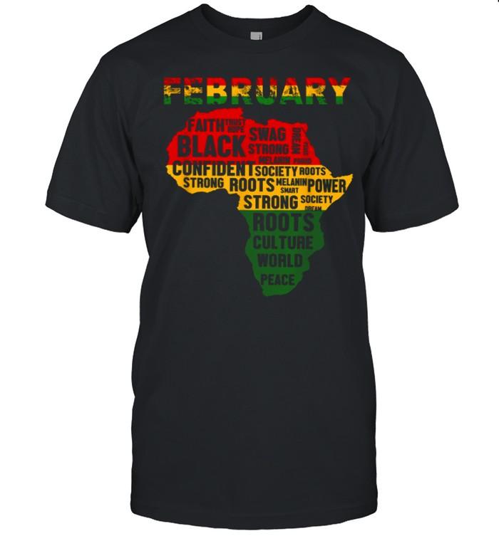 February Faith Trust Hope Black Confident shirt