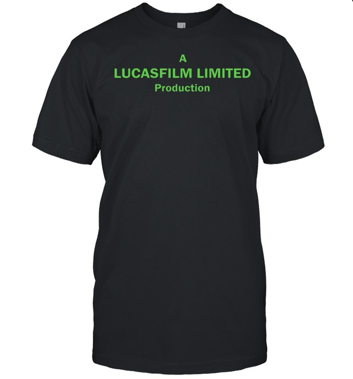 A Lucasfilm Limited Production shirt
