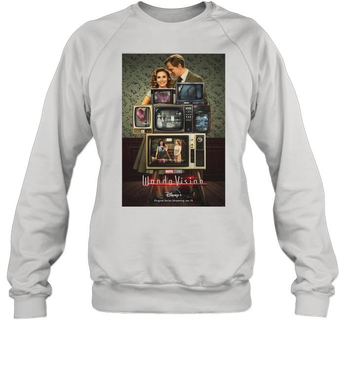 Marvel Wandavision Through The Years shirt Unisex Sweatshirt