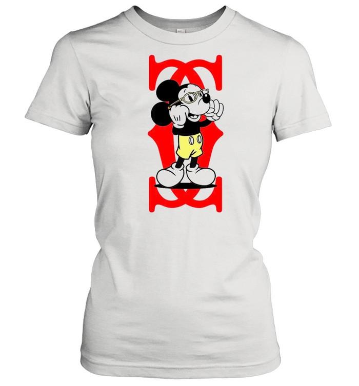 Mickey Mouse Cartier Capital boss up shirt Classic Women's T-shirt