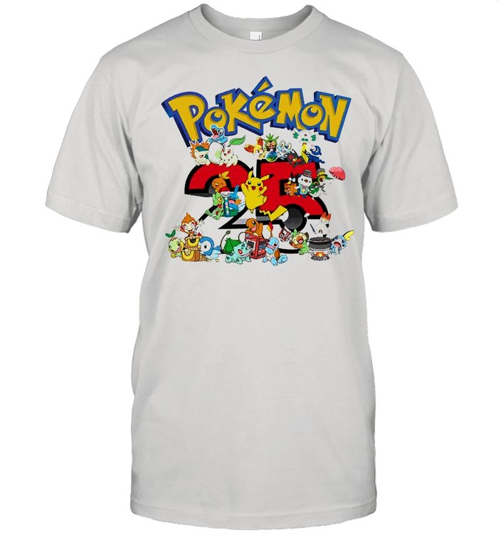 Pokemon 25th Anniversary shirt