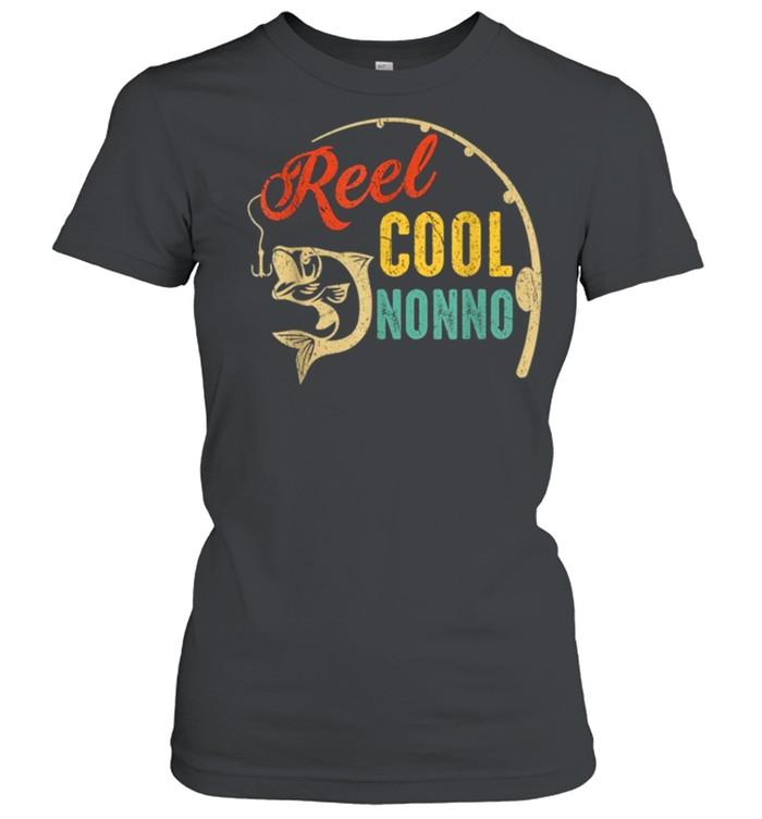 Vintage Fishing Reel Cool Nonno shirt Classic Women's T-shirt