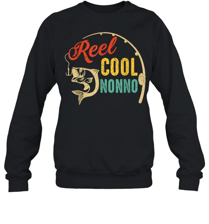 Vintage Fishing Reel Cool Nonno shirt Unisex Sweatshirt