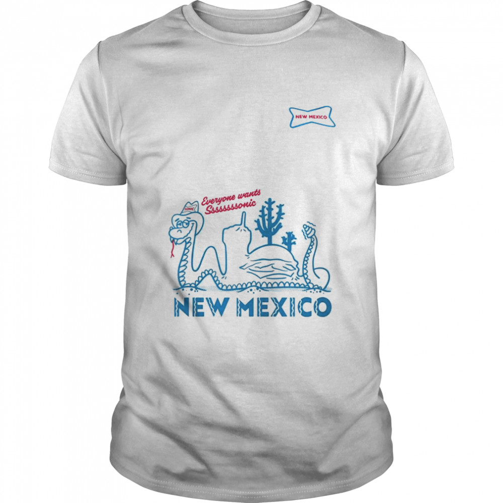 Sonic everyone wants Sonic New Mexico shirt