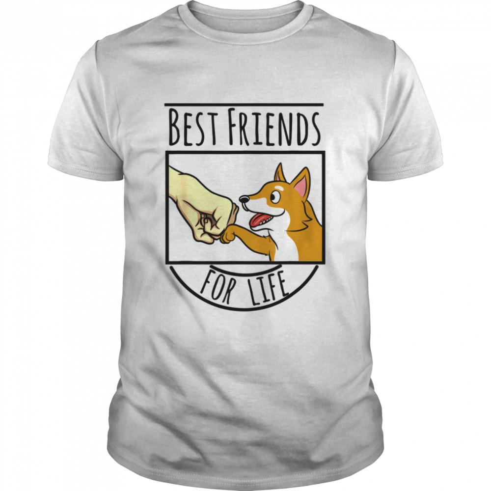 Beste Freunde Shiba Inu Hund Shirt