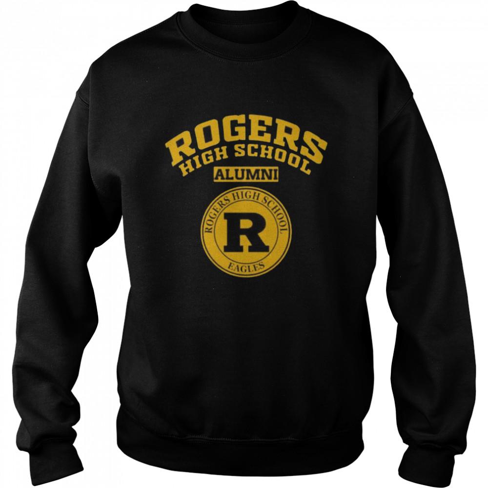 Rogers High School Logo Alumni  Unisex Sweatshirt