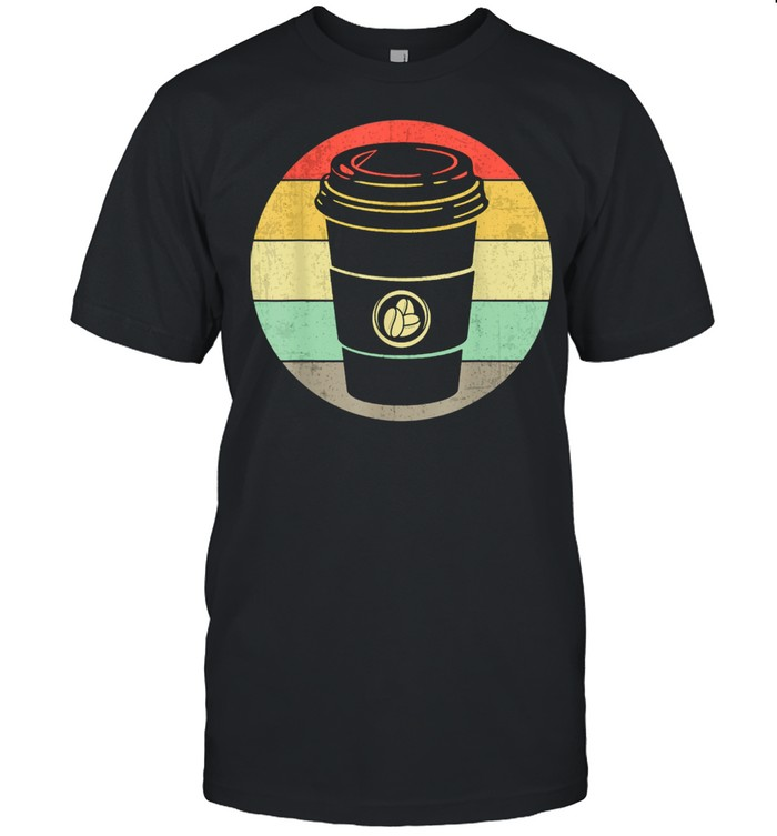 Vintage Paper Cup of Coffee for any Coffee Shirt