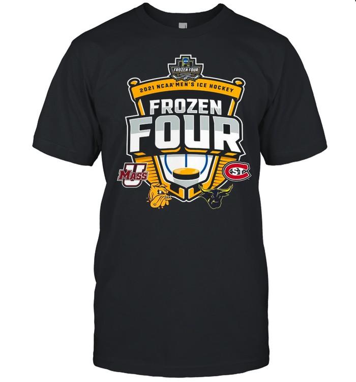 Umass Minutemen Vs St Cloud State 2021 NCAA Men's Ice Hockey Frozen Four shirt