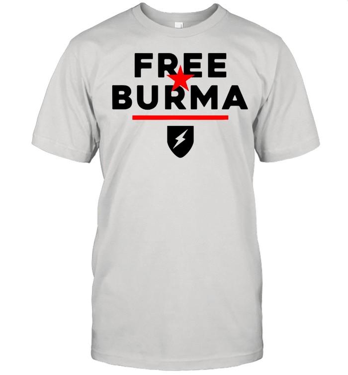 Free Burma Shirt
