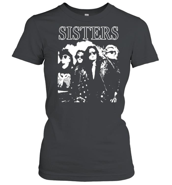 sisters band music shirt Classic Women's T-shirt